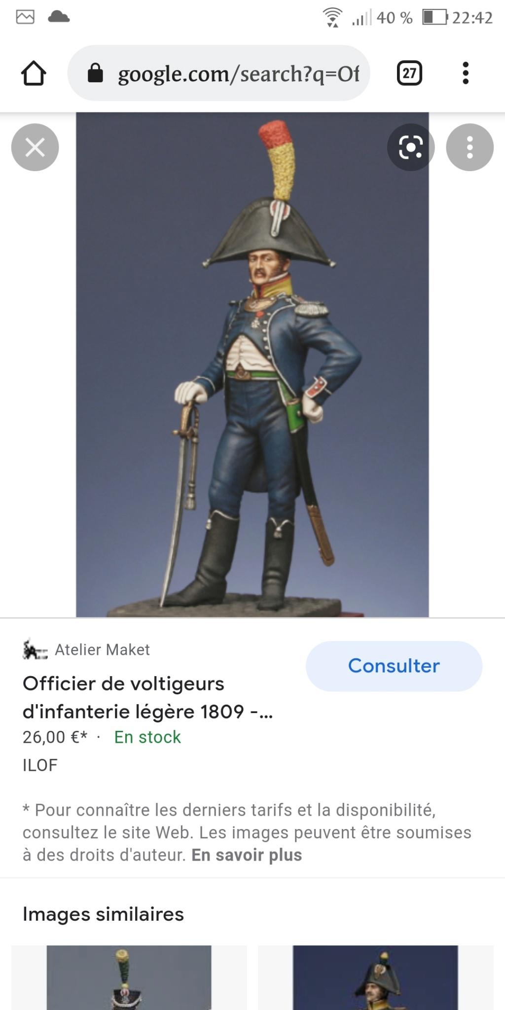 Officier de voltigeur d infanterie légère - terminé Scree162