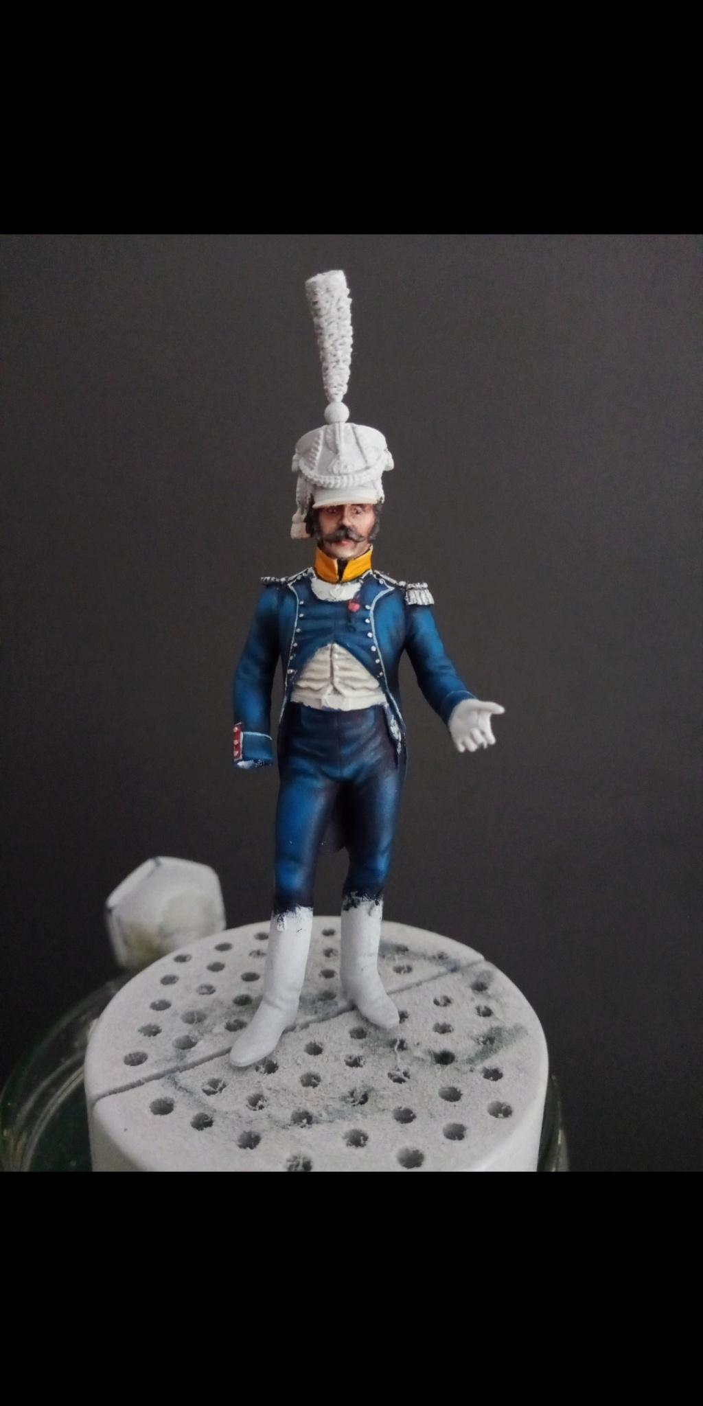 Officier de voltigeur d infanterie légère - terminé Scree170