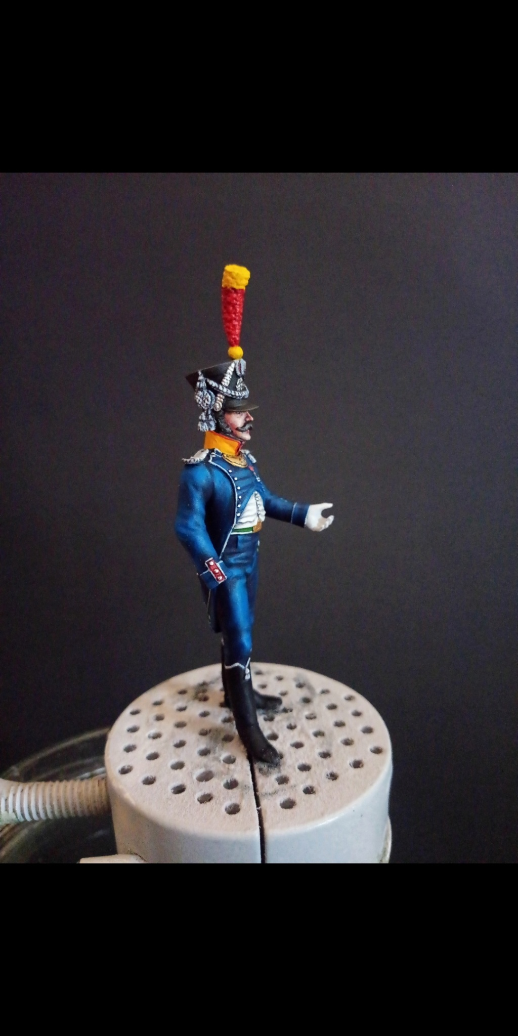 Officier de voltigeur d infanterie légère - terminé Scree180