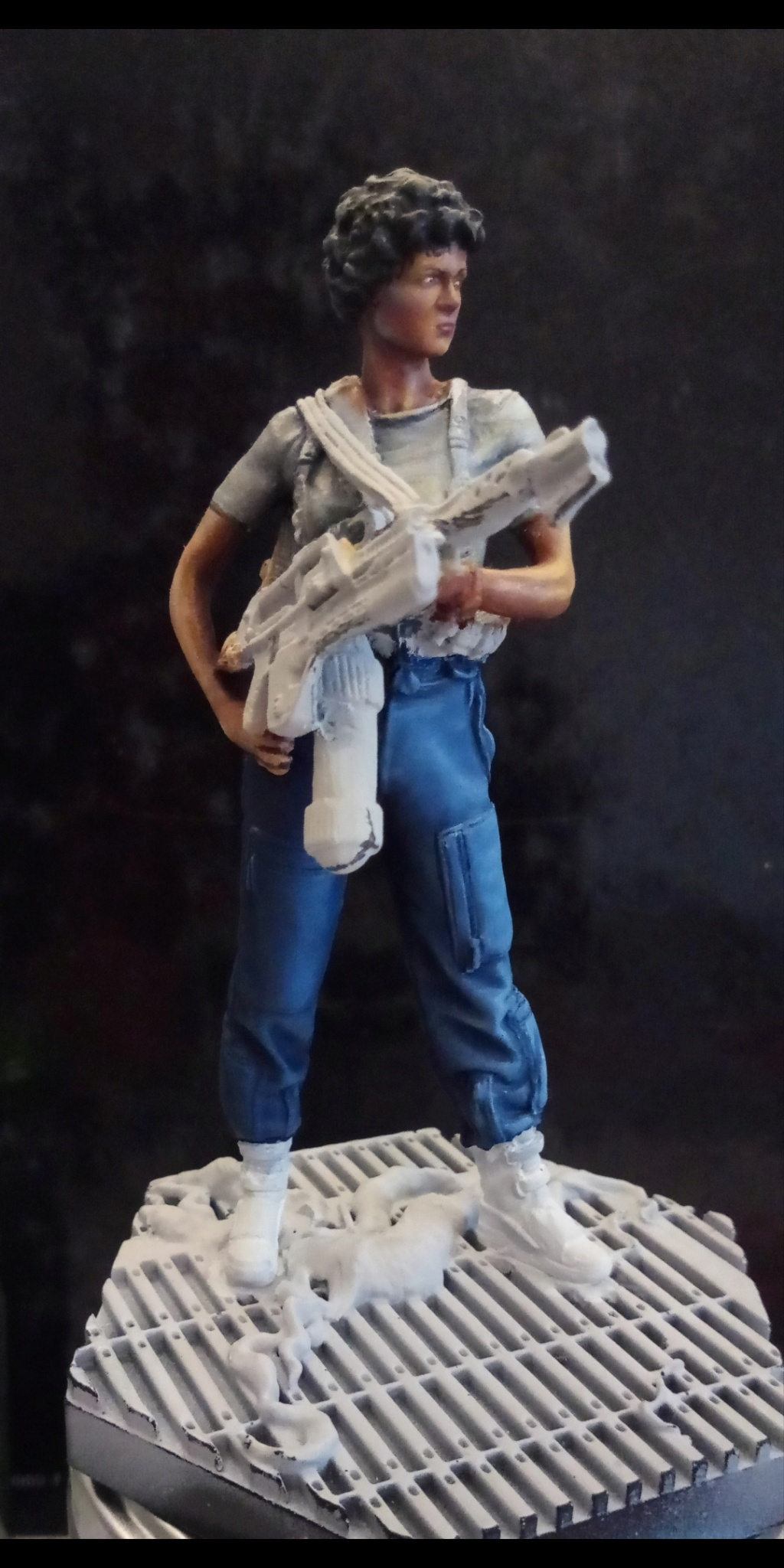 Lieutenant RIPLEY- Aliens -Eaglemoss Screen84