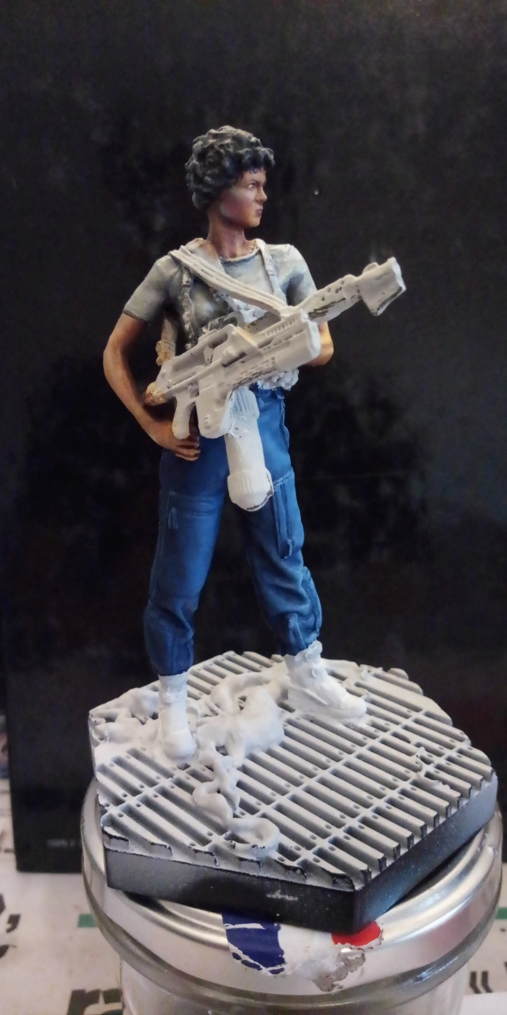 Lieutenant RIPLEY- Aliens -Eaglemoss Screen85