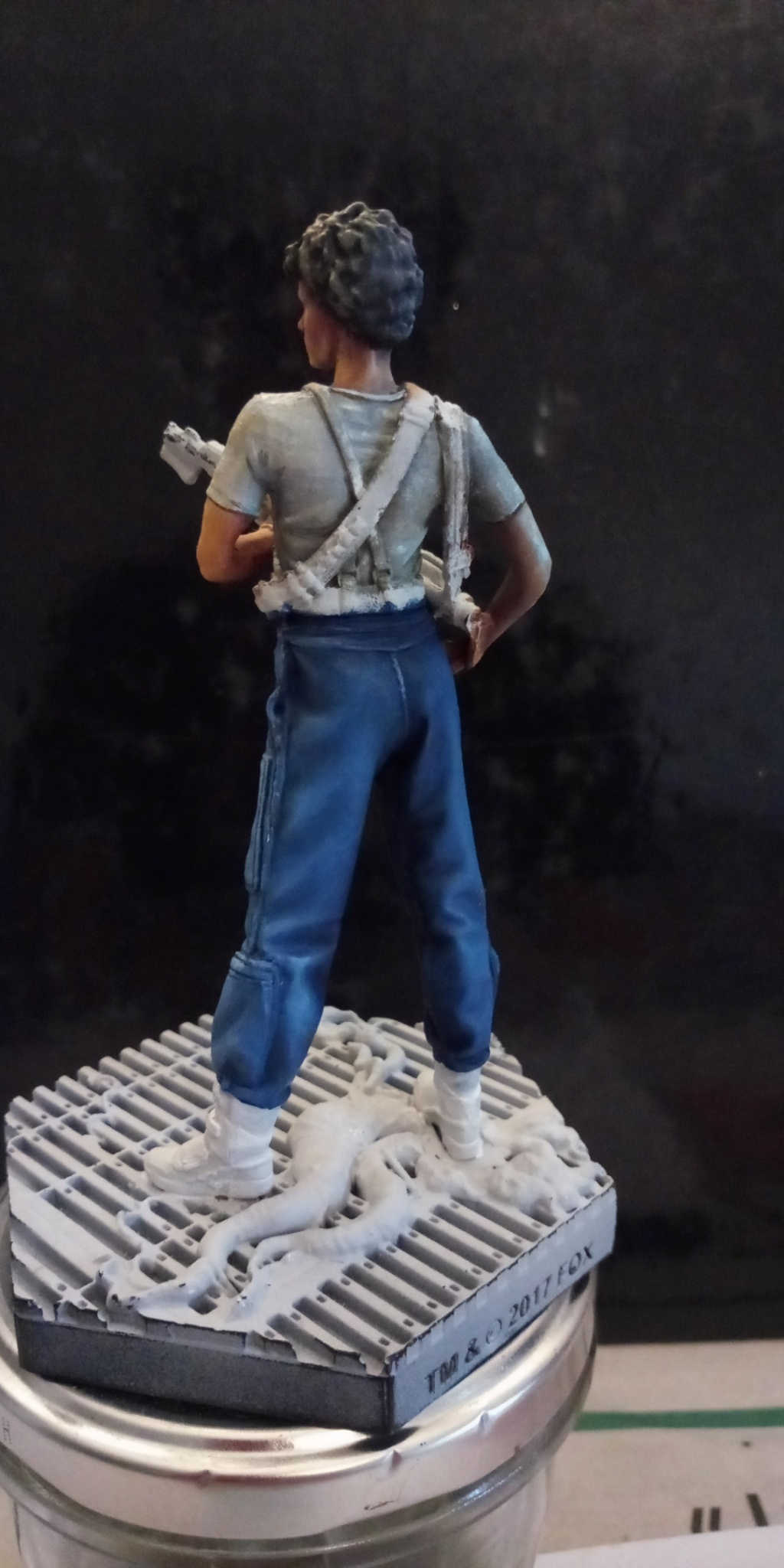 Lieutenant RIPLEY- Aliens -Eaglemoss Screen86