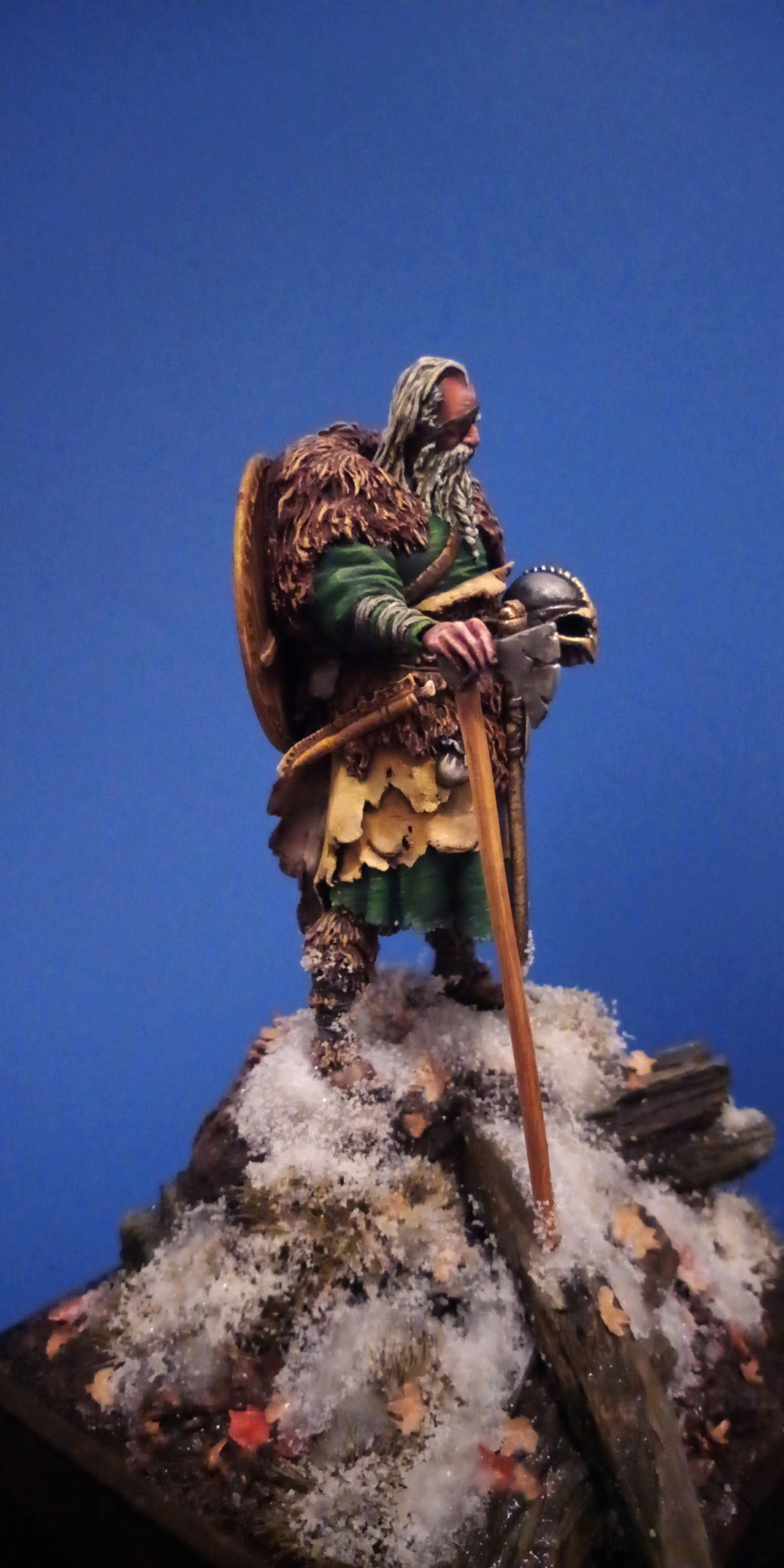 Guerrier viking - masterclass- 75mm - Terminé - Page 2 V510