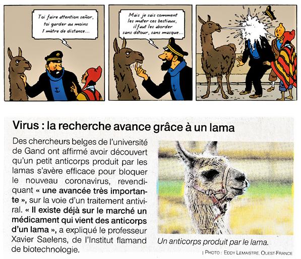 Trouvailles autour de Tintin (deuxième partie) - Page 6 Covid-10