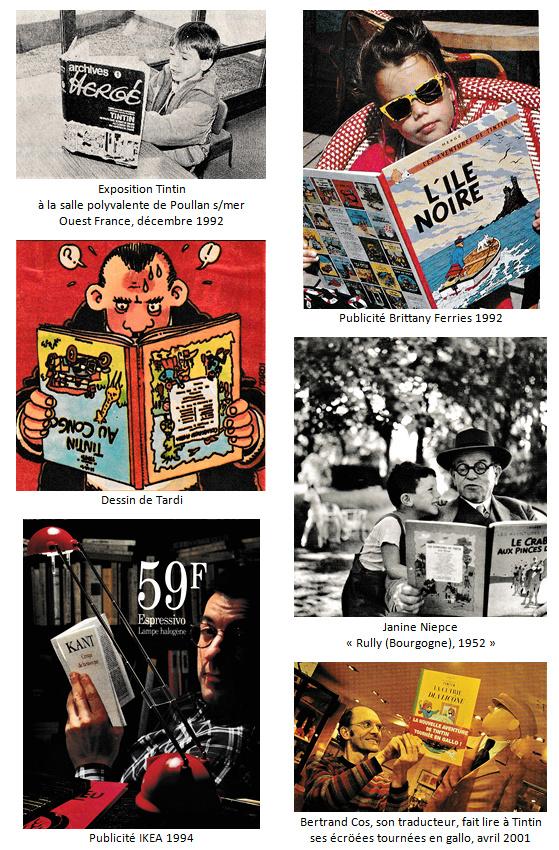 Trouvailles autour de Tintin (deuxième partie) Lecteu11