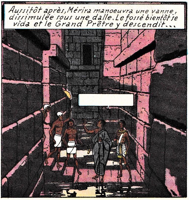 Pleins feux sur Edgar Pierre JACOBS et Blake et Mortimer (2ème partie en cours) - Page 36 Pyrami11