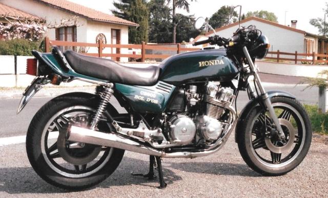 il y a 40 ans - La Honda CB 900 F Bol d'Or Bo311