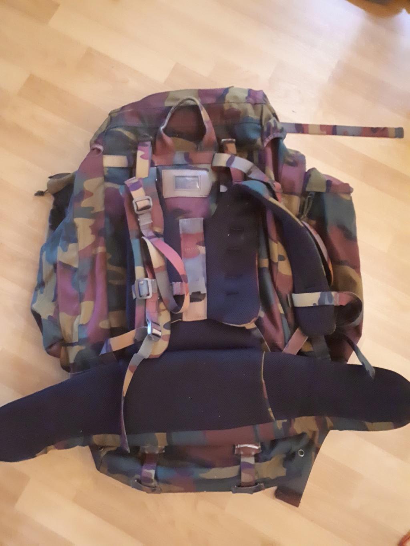 Belgian army big Backpack 20180710