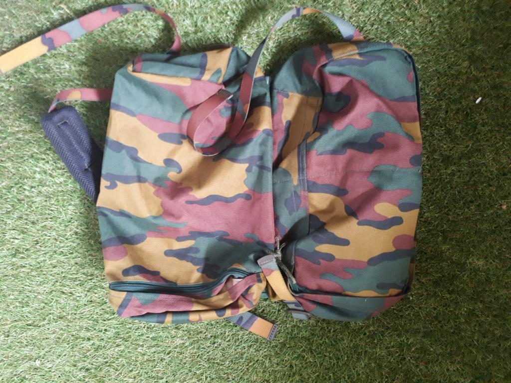 Belgian army big Backpack 20180718
