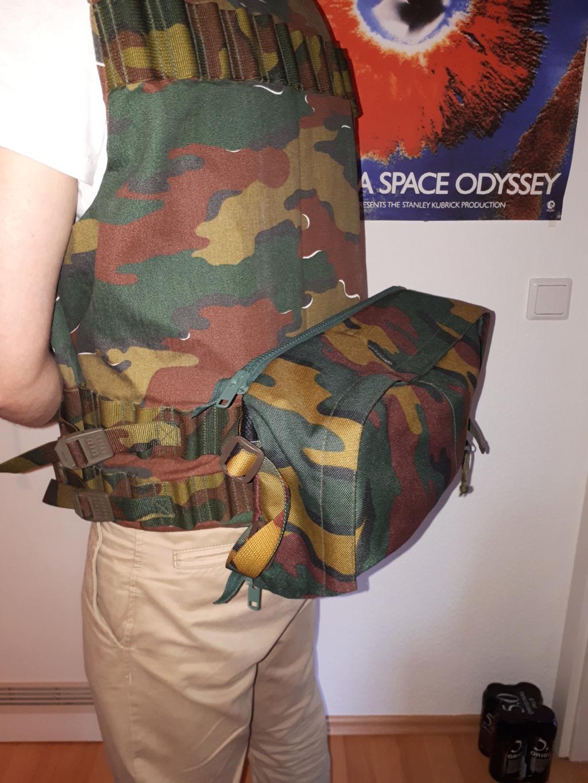 Belgian army big Backpack 20180910