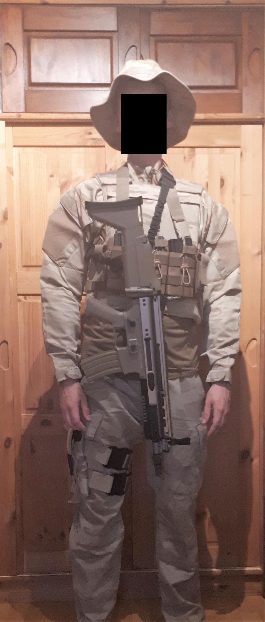 Belgian Desert Uniforms 20190831