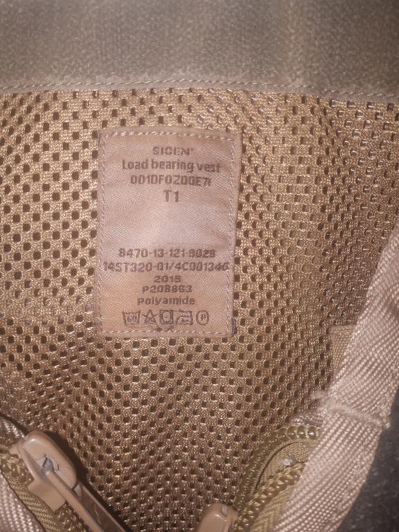 Belgian Army Load Bearing vest SIOEN ATLAS 20200129