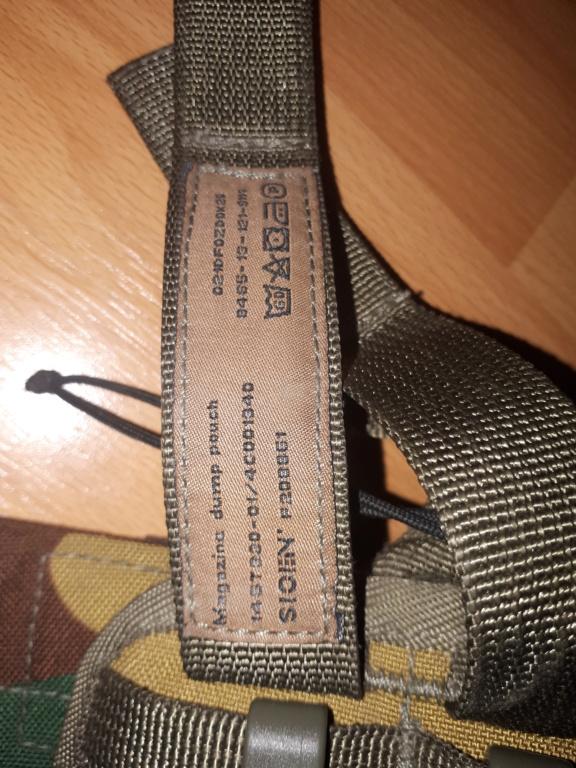 Belgian Army Load Bearing vest SIOEN ATLAS 20200415