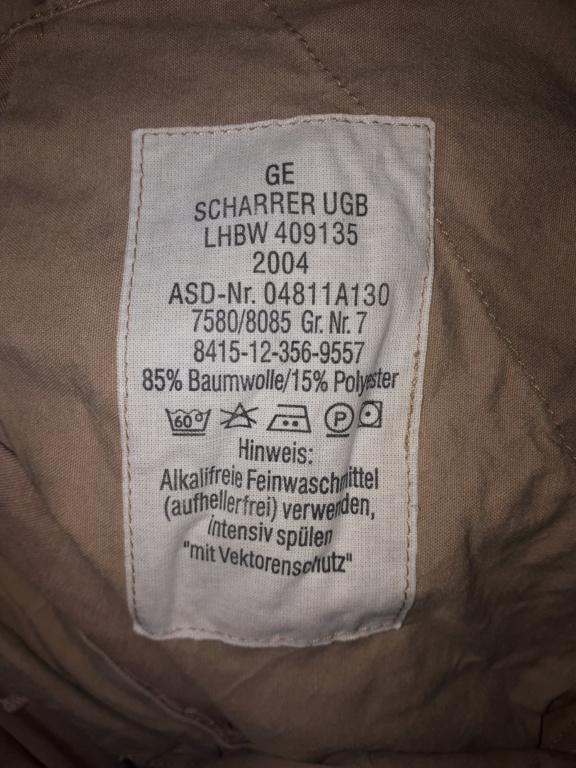 German Bundeswehr trousers 20200615