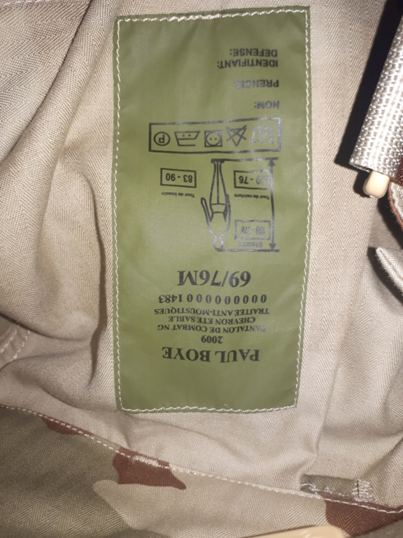 French trousers F2 and Felin 20210321