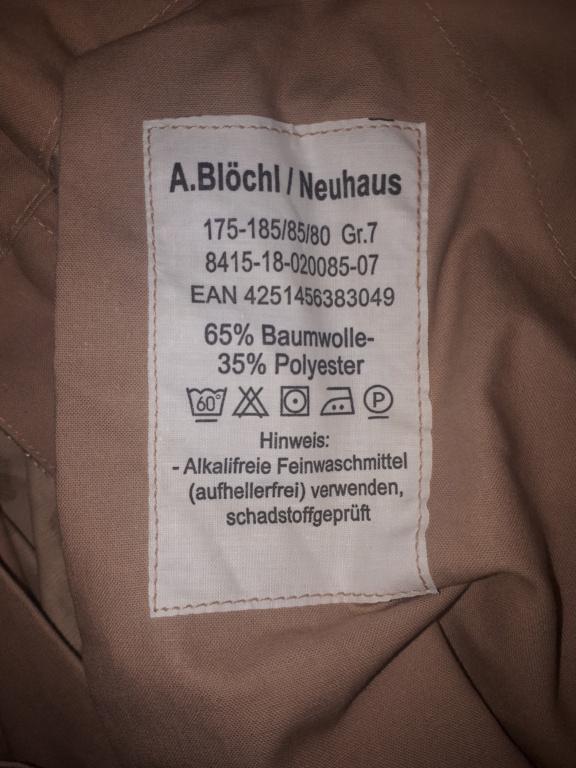 German Bundeswehr trousers 20210611