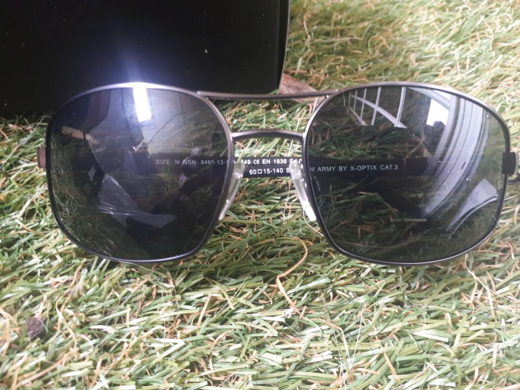 Belgian army sun glasses 20210612