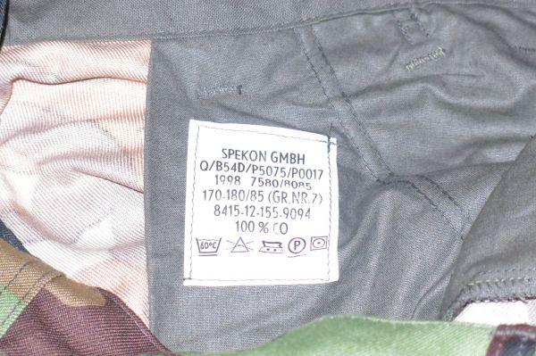 Truppenversuch trousers? Etiket10