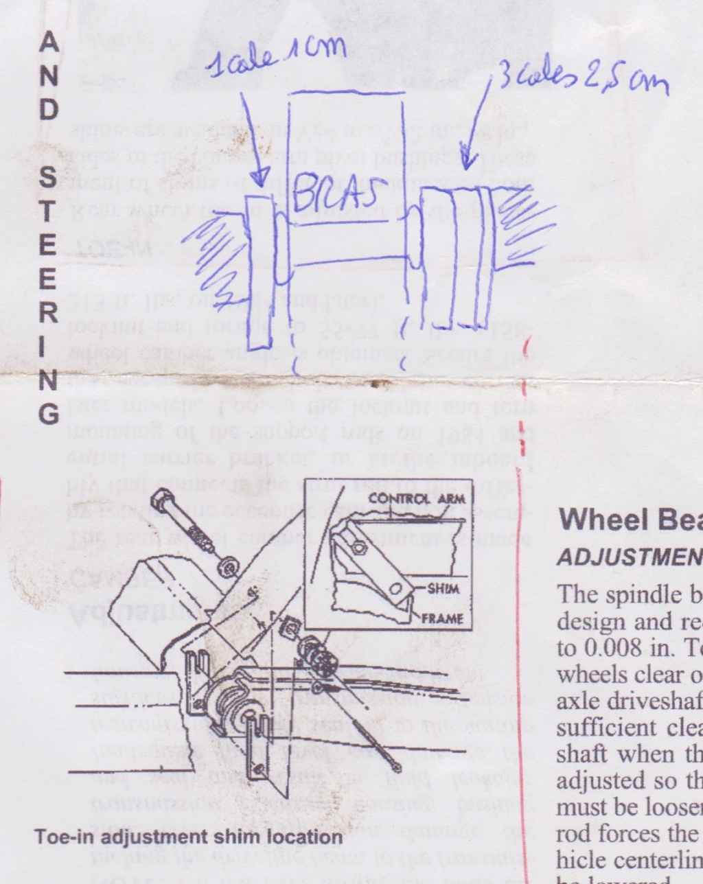 [WIP] évolution C3 SB 1972 ( bruit à l'arrière, pont? ) - Page 4 C3cale10
