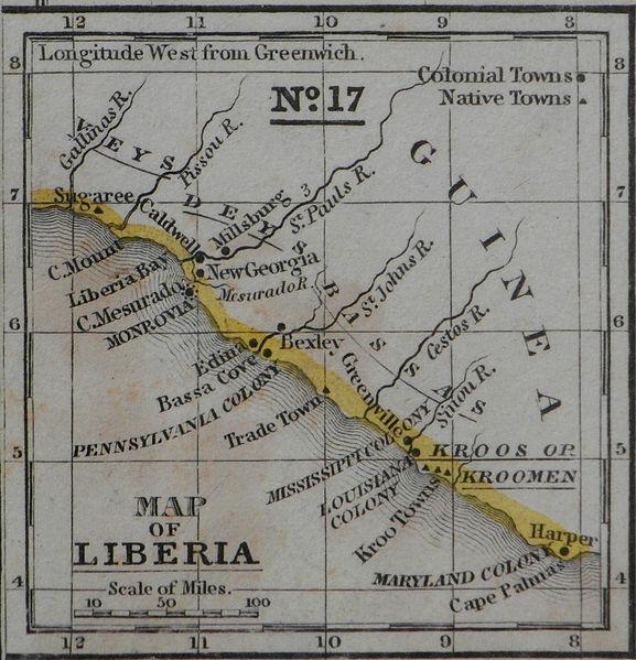 1 Dollar 1961 - Liberia Mitche10