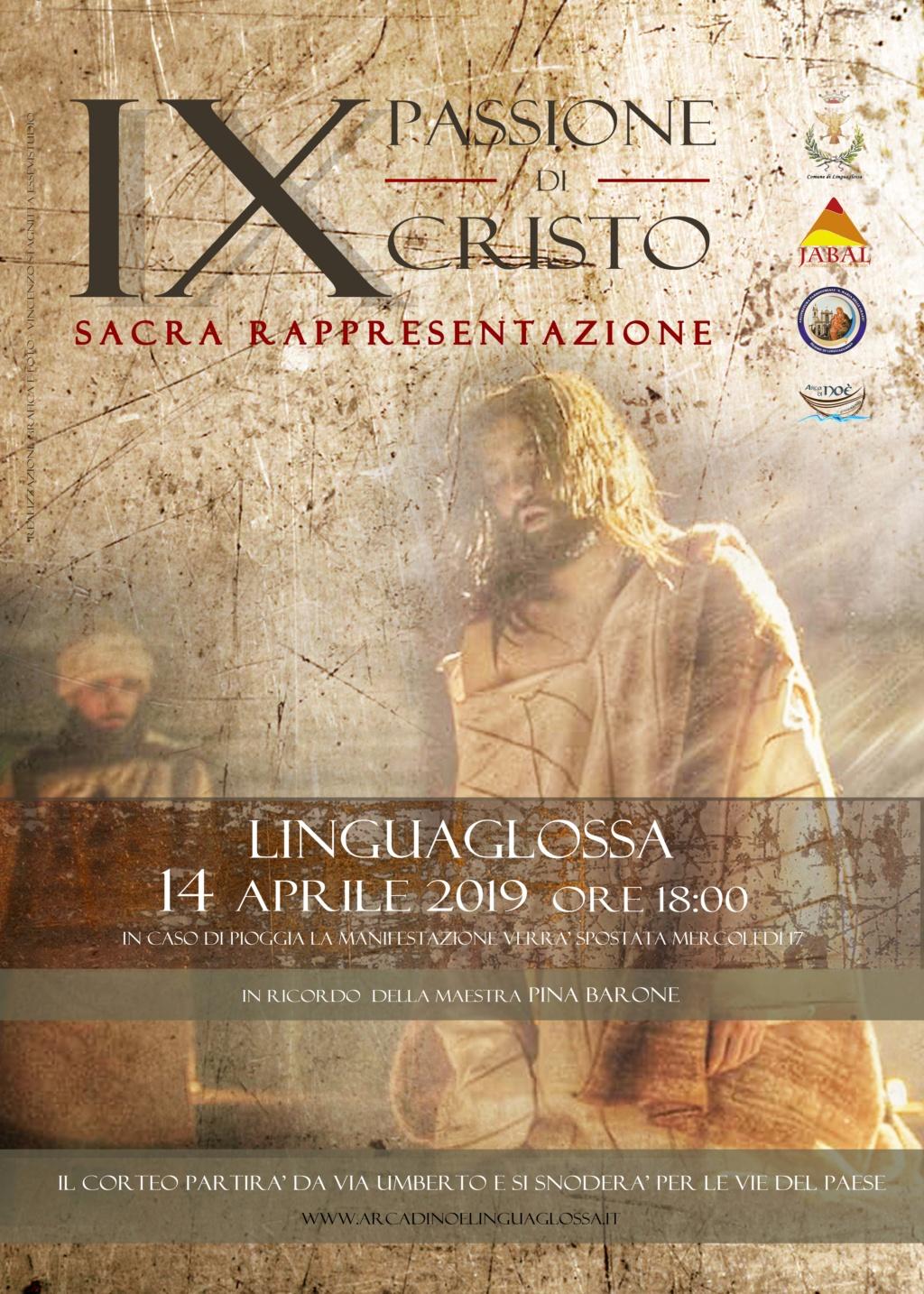 Passione e Morte di Cristo Sacra Rappresentazione a Linguaglossa (CT) Locand10
