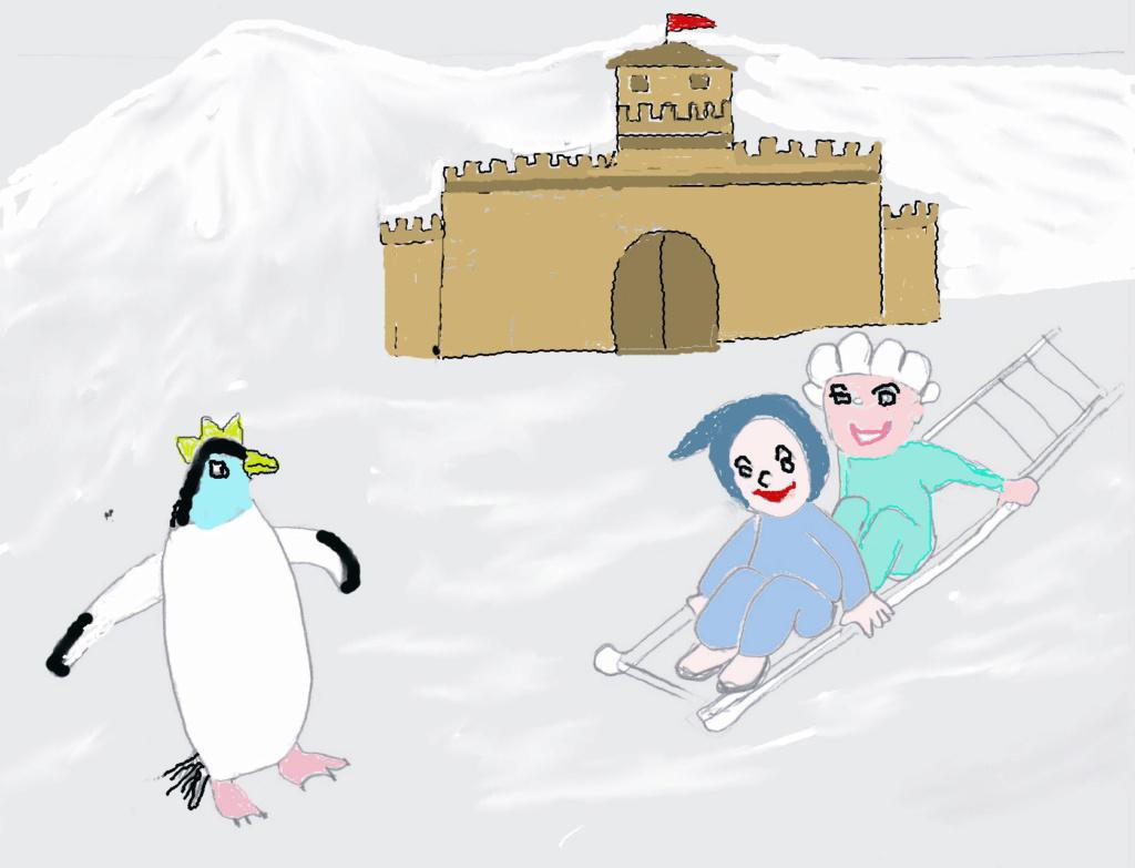 La pingüino convertida en princesa (cuento para niños) Pingzi11
