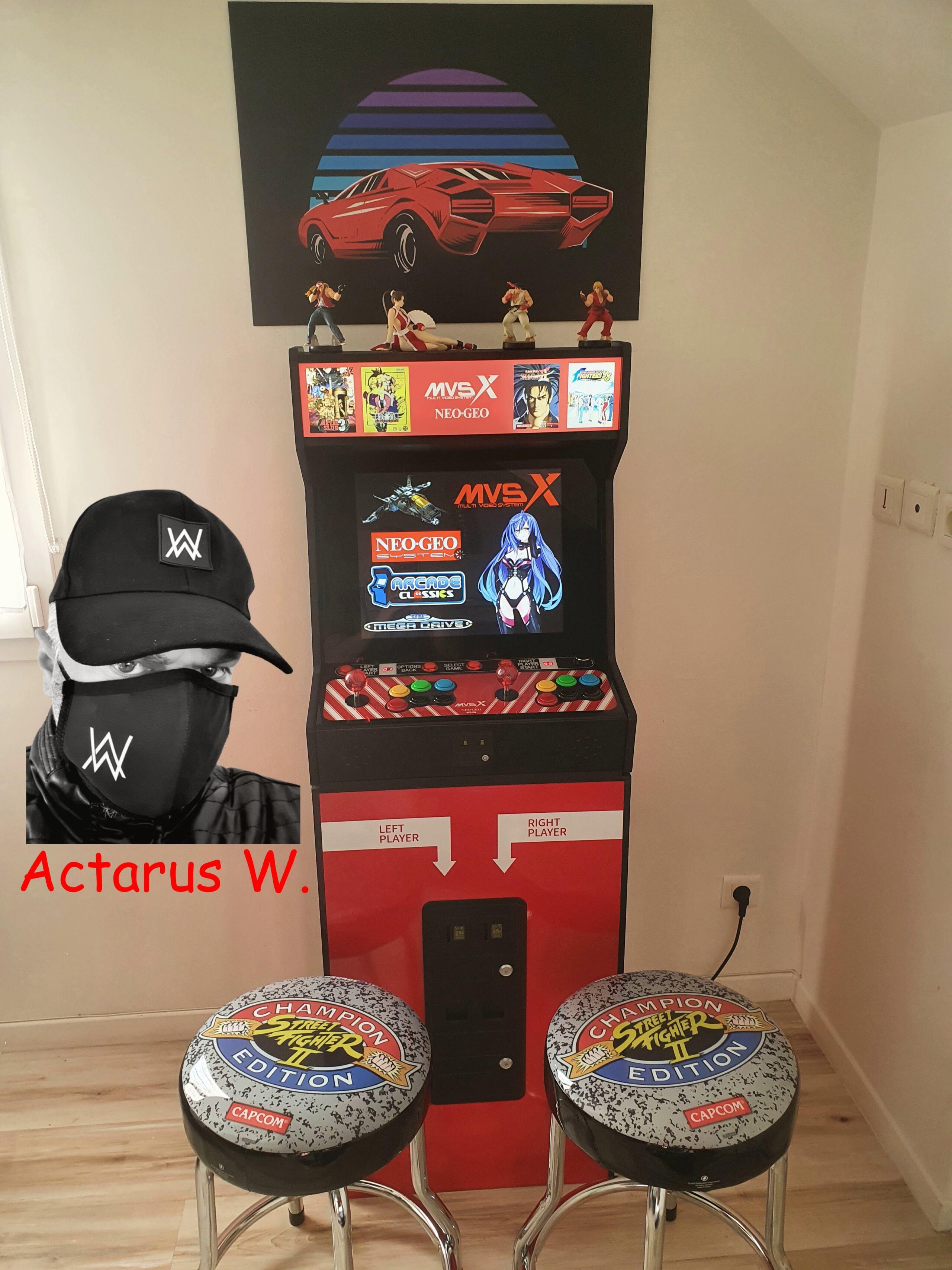 Mon Bartop Neo Geo MVSX 0111