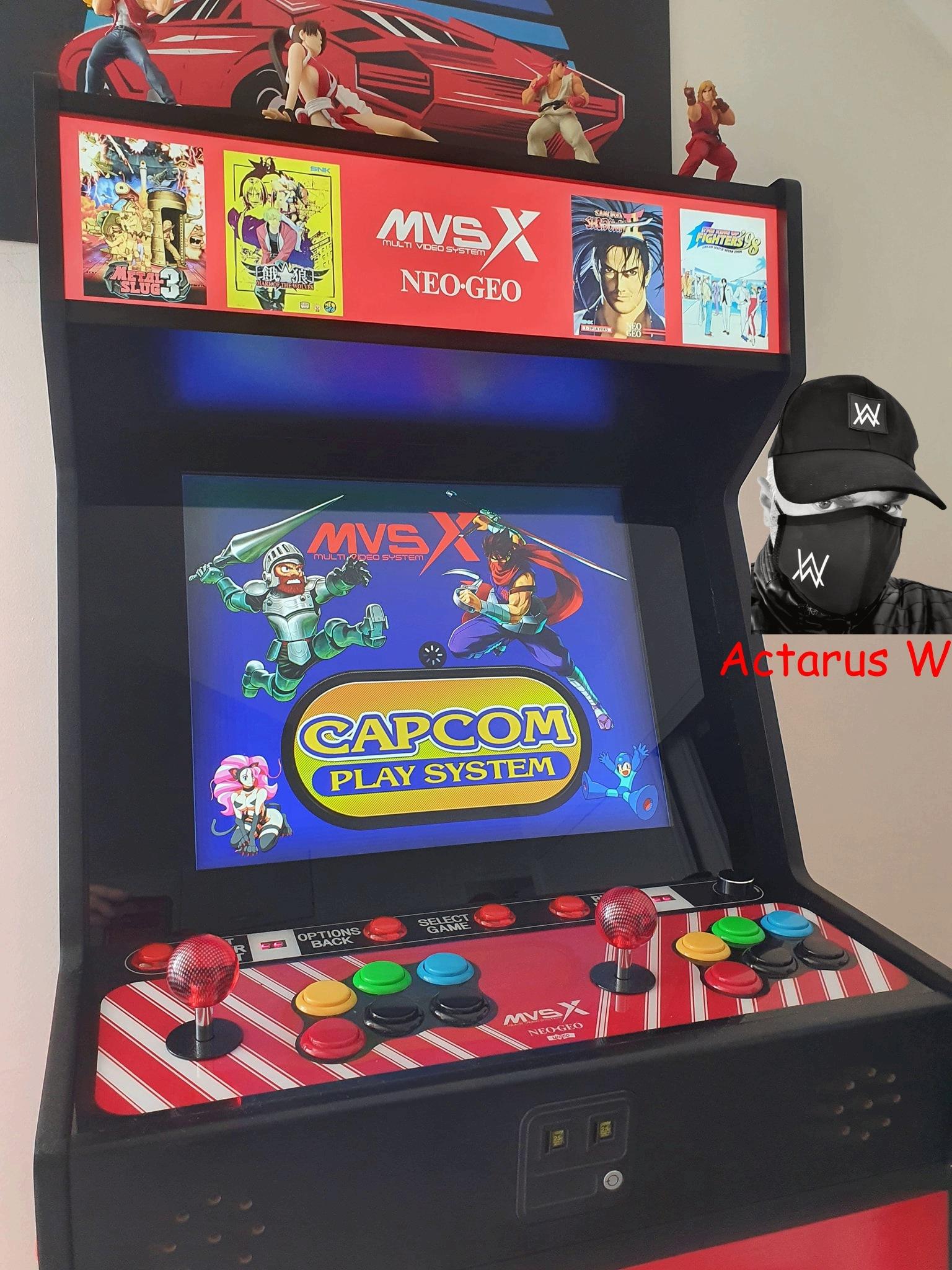 Mon Bartop Neo Geo MVSX 0510