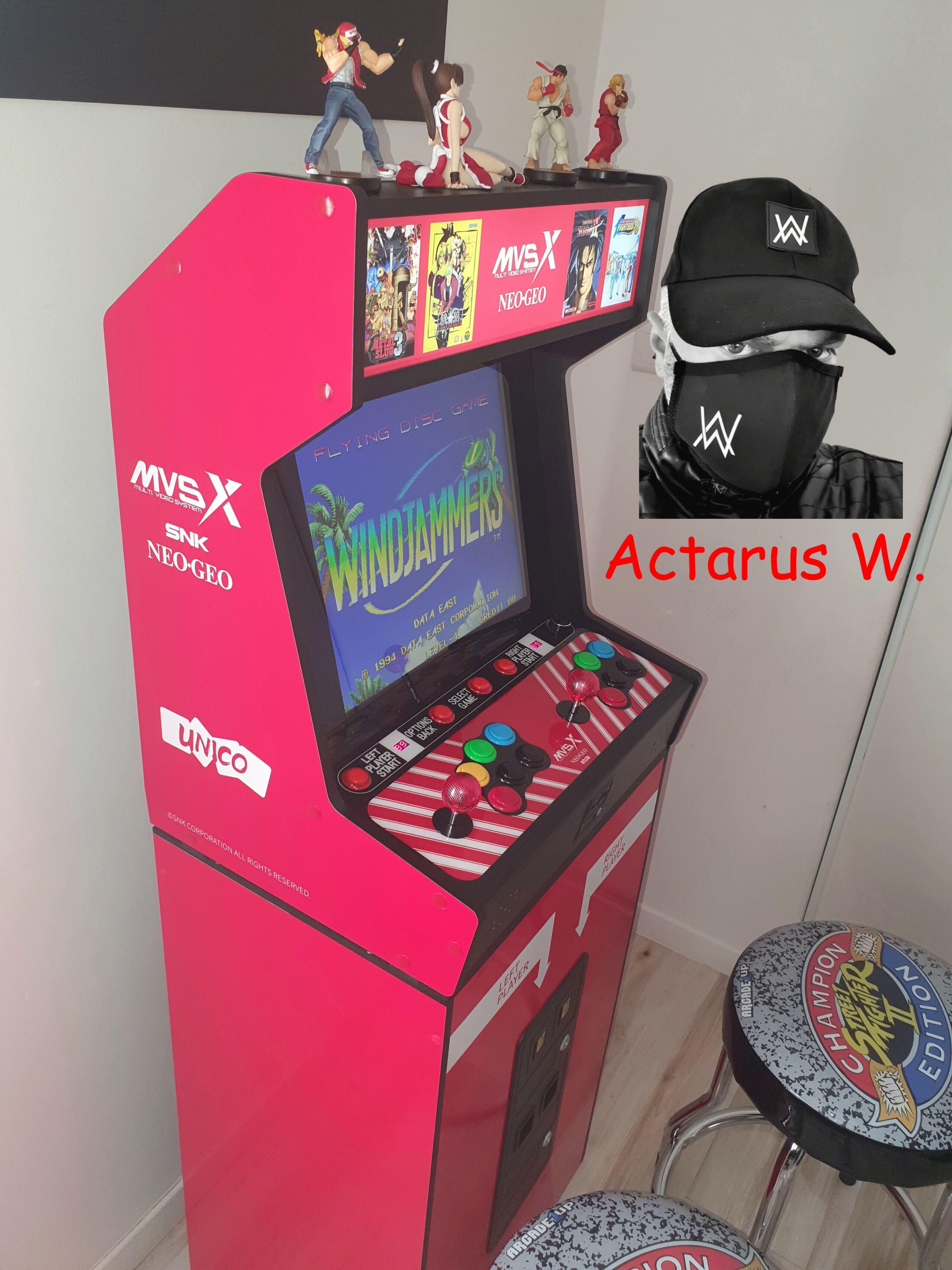Mon Bartop Neo Geo MVSX 0810
