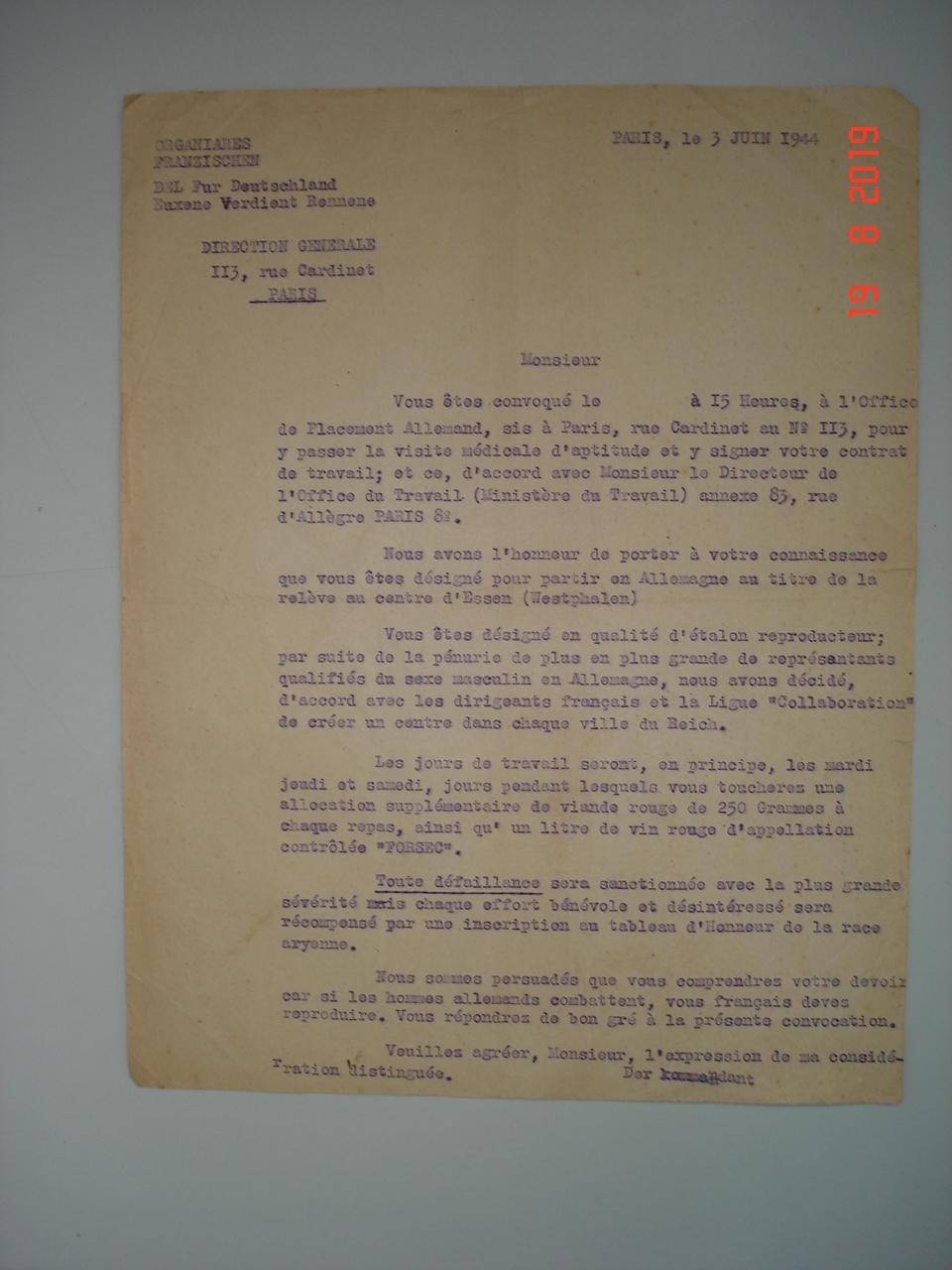 authentification lettre allemande et diplome cjf Dsc00018