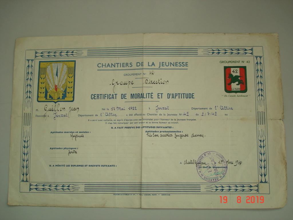 authentification lettre allemande et diplome cjf Dsc00020