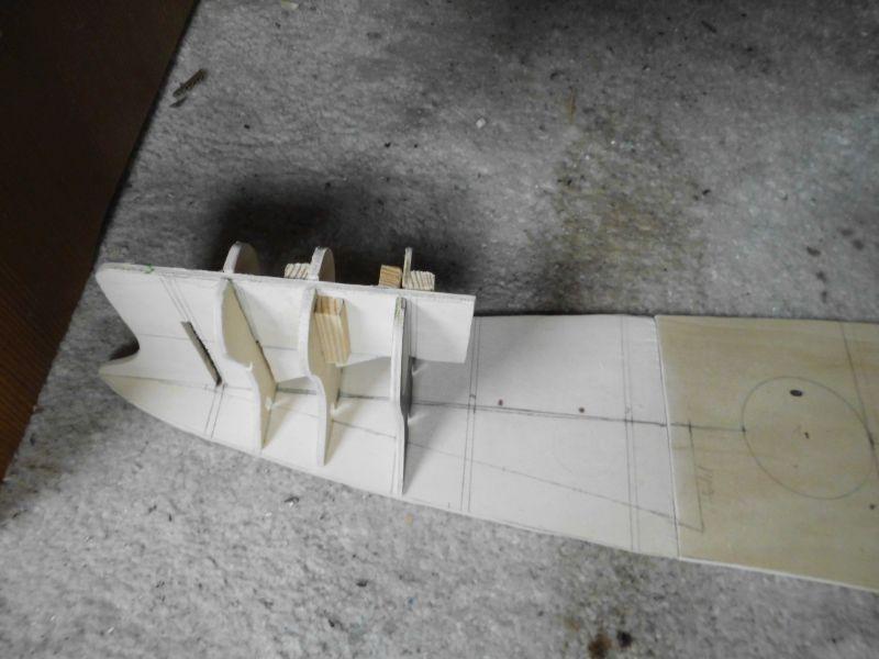 """Maximum Battleship"" Projekt von 1917, ""Tillman IV"" in Holz 1/200 Resize11"