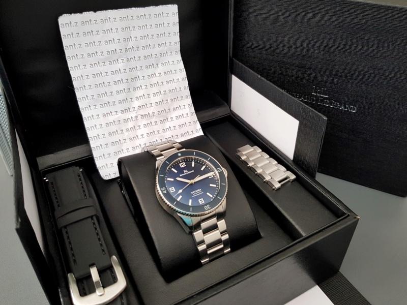 Ocean - [Vendue] Richard Legrand Odyssea Mk.II bleu océan - 210€ Img_0211
