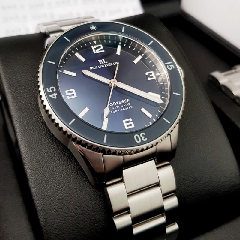 Ocean - [Vendue] Richard Legrand Odyssea Mk.II bleu océan - 210€ Img_0212