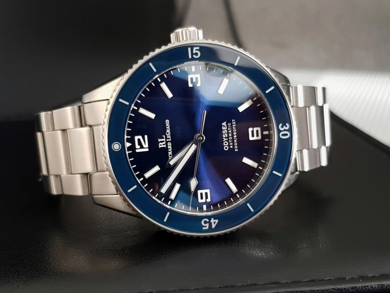 Ocean - [Vendue] Richard Legrand Odyssea Mk.II bleu océan - 210€ Img_0213