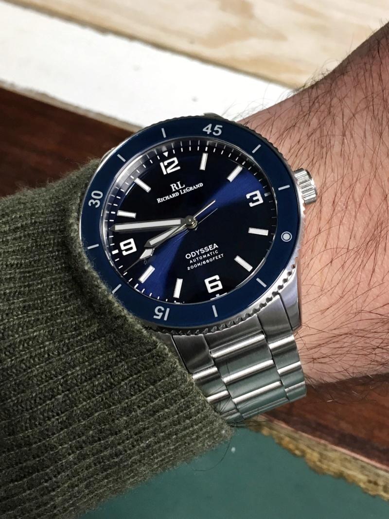 Ocean - [Vendue] Richard Legrand Odyssea Mk.II bleu océan - 210€ Ygdte510