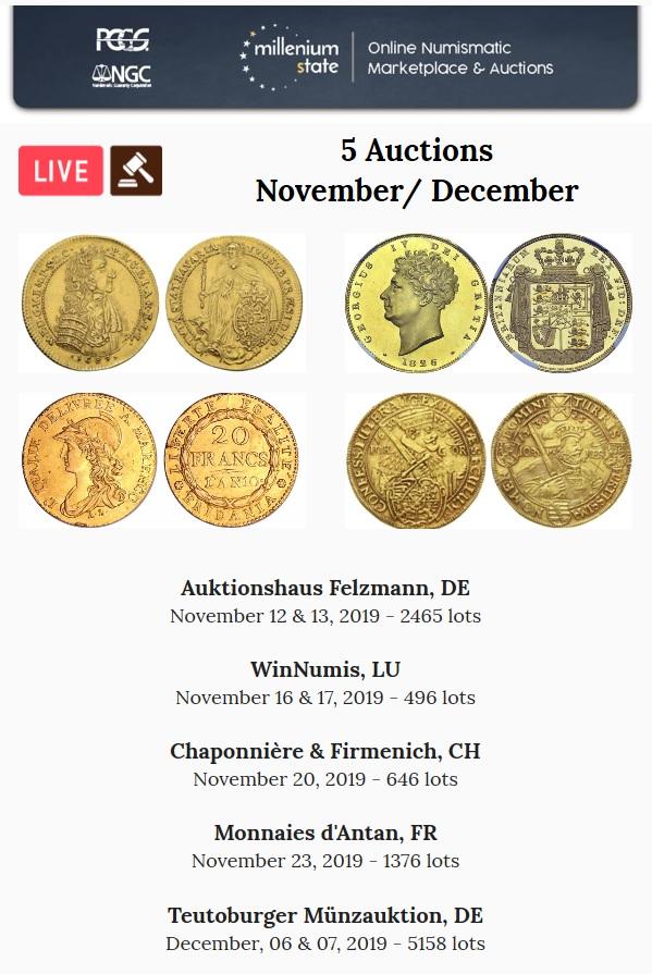 Nouvelles ventes aux enchères Novembre / Décembre 2019 Coin_a10