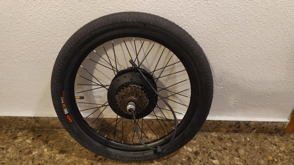 Vendo ruedas 20pulgadas con motor de 250w 36v y frenos de disco.  Img_2012