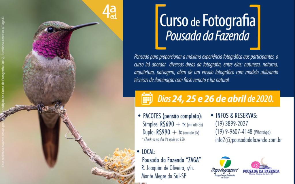 Curso de Fotografia na Pousada da Fazenda (em Abril de 2020 no Brasil) 2020--10