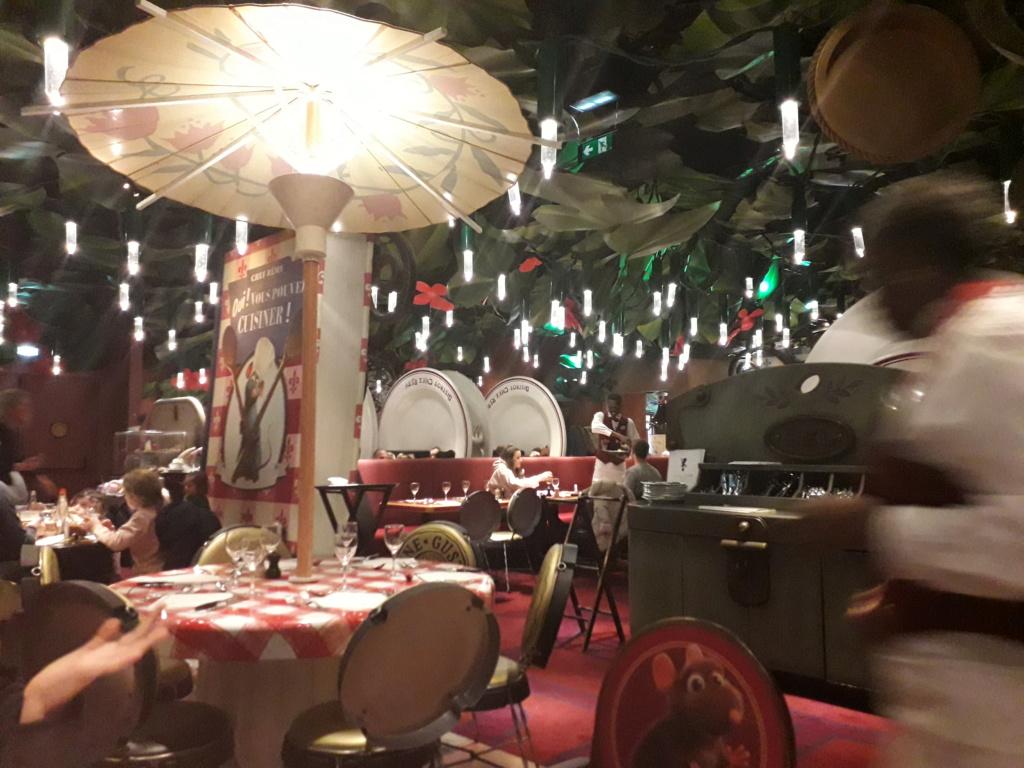 Séjour du 10 & 11 mars 2020 Disneyland Hôtel Upgrade Castle Club 20200313