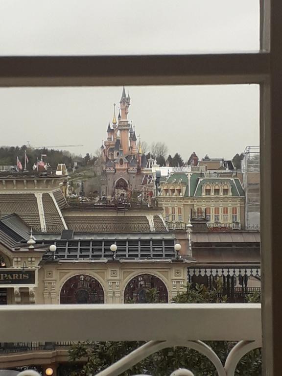 Séjour du 10 & 11 mars 2020 Disneyland Hôtel Upgrade Castle Club 20200314