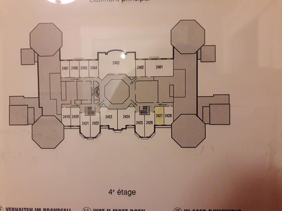 Séjour du 10 & 11 mars 2020 Disneyland Hôtel Upgrade Castle Club Chambr10