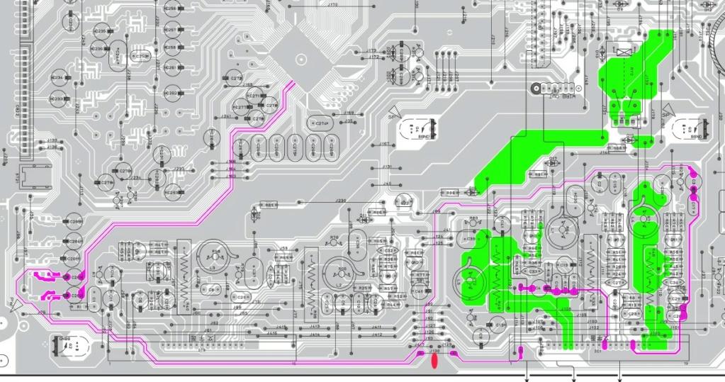 transformer une sortie ampli stéréo en sortie ligne. Detail10