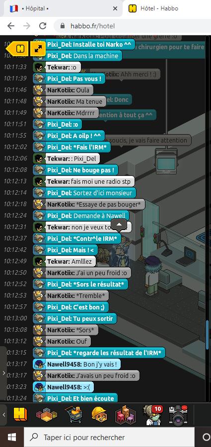 [C.H.U] Rapport R.P De Pixi_Del 114