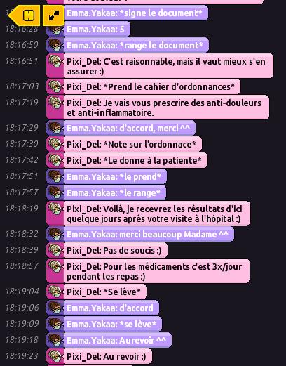 [C.H.U] Rapport R.P De Pixi_Del 210