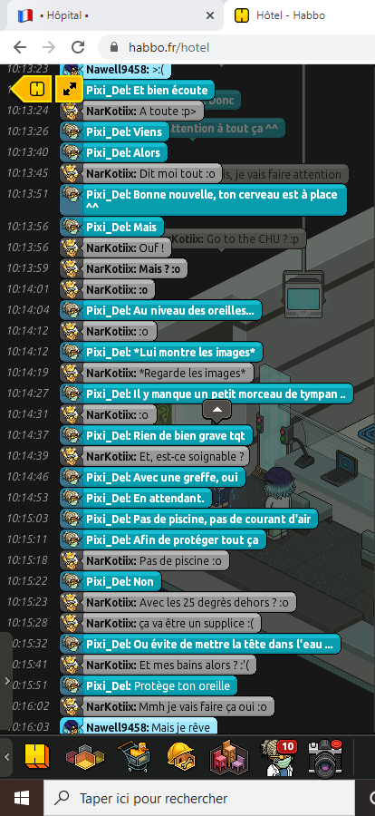 [C.H.U] Rapport R.P De Pixi_Del 214