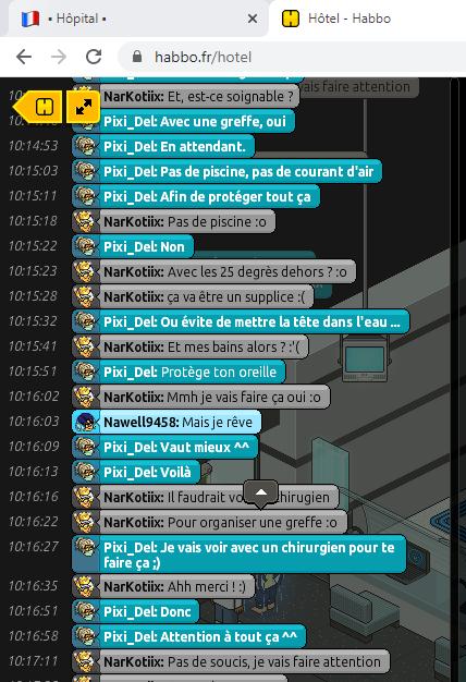 [C.H.U] Rapport R.P De Pixi_Del 312