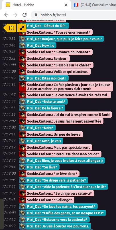 [C.H.U] Rapport R.P De Pixi_Del Rp111