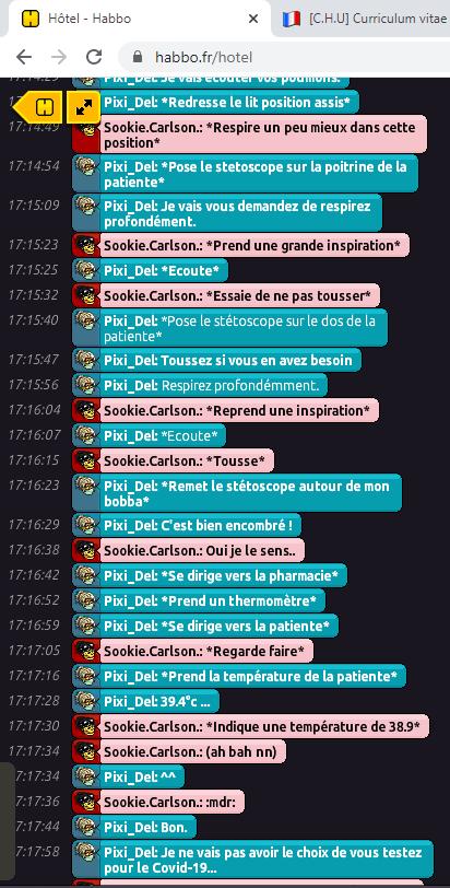 [C.H.U] Rapport R.P De Pixi_Del Rp210