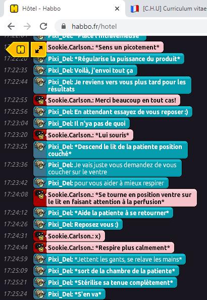 [C.H.U] Rapport R.P De Pixi_Del Rp410